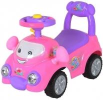 Dětské odrážedlo BABY MIX - Autíčko růžové