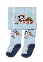 YO ! Bavlněné punčocháčky Pejsek - sv. modré