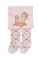 YO ! Bavlněné punčocháčky Mašličky - sv. růžové