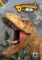 Omalovánka A5 Dinosaurus
