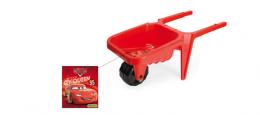 Plastové kolečko na písek CARS - červené