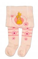 YO ! Bavlněné punčocháčky Žirafky - sv. růžové