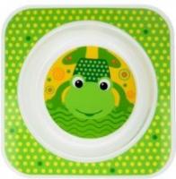 Talířek AKUKU Žabka - zelený