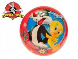 Míč 23cm Looney Tunes - Tweety a Sylvester v síťce