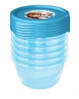 Sada plastových krabiček Frozen 0,2l - 6 ks