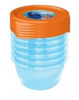 Sada plastových krabiček Hledá se Dory 0,2l - 6 ks