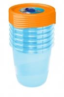 Sada plastových krabiček Hledá se Dory 0,35l - 6 ks