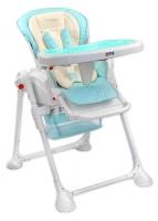 Jídelní židlička a houpačka 2v1 ZEFIR - sv. modrá