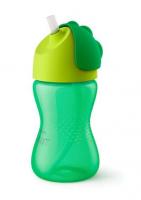 AVENT Hrníček s brčkem 300ml - zelený