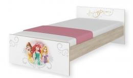 Dětská junior postel Disney 180x90cm - Princess