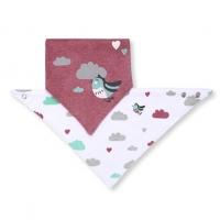 Dětský bryndáček/šátek Baby Ono - Ptáček