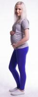 Těhotenské legíny - tmavě modré