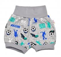 Bavlněné kraťásky Baby Nellys ® - Fotbal