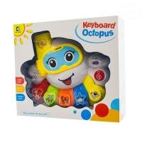 Interaktivní hračka s melodií - Keyboard Chobotnice