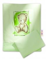 Sada do kočárku komplet Sweet Dreams by TEDDY - zelený