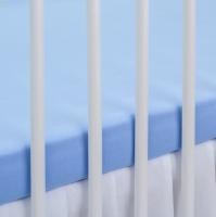 Bavlněné prostěradlo - modré