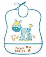 Měkký plastový bryndáček Canpol Babies - KONÍČEK