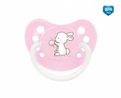 Dudlík anatomický Canpol Babies 18m+ C, Little Cutie -sv. růžový