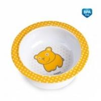 Melaminová miska s přísavkou Canpol Babies - Medvídek