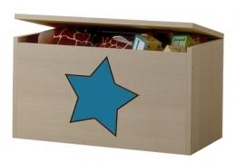Box na hračky, truhla s modrou hvězdičkou ke kolekci Žirafka