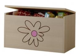 Box na hračky, truhla Květinka růžová