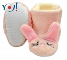 Zimní botičky/capáčky polar YO! - Králiček - sv. růžové