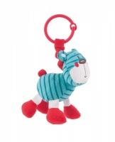 Závěsná plyšová hračka s chrastítkem Forest Friends - medvídek