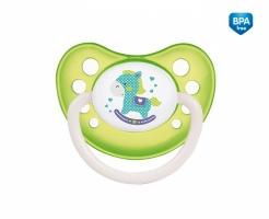 Dudlík anatomický Canpol Babies 0-6m A, Toys -  koníček zelený