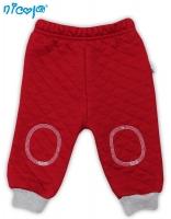 Tepláčky, kalhoty NICOL HASIČ - červené, prošívané