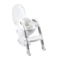 Thermobaby sedátko na WC se schůdkem - šedé