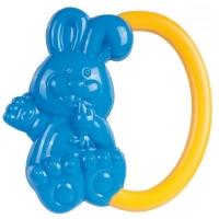 Chrastítko do ručičky Canpol Babies - Zajíček - modré