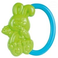 Chrastítko do ručičky Canpol Babies - Zajíček - zelené