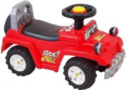 Dětské jezdítko Baby Mix se zvukem  - červené