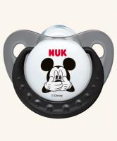 6-18m Dudlík NUK TRENDLINE - Miky- černý
