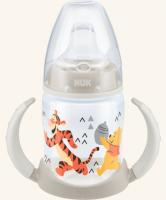 Hrneček NUK First Choice Medvídek Pú - bílo/šedý - 150 ml