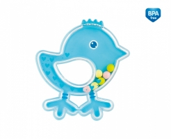 Chrastítko Canpol Babies Ptáčátko - modré