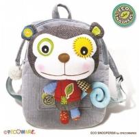 Dětský batoh,batůžek Opička šedá