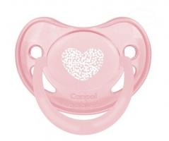 Dudlík Canpol Babies - Pastel 0-6m - růžový