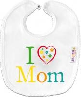 Bryndáček bavlna - I love Mom