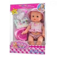 Panenka, miminko zpívající, čůrající a pijící - růžová