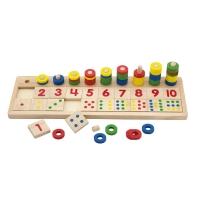 Dřevěná vzdělávací hračka - počítání
