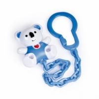 Řetízek na dudlík  - KOALA Canpol Babies - modrý