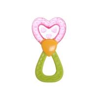 Chrastítko s chladícím kousátkem Canpol Babies - Magická hůlka - červená/zelená
