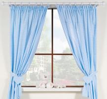 Krásné závěsy do pokojíčku - Snílek modrý