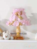 Noční lampička - Žirafky růžové