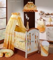 Lustr do dětského pokojíčku - Míša a kamarádi v pomeranči