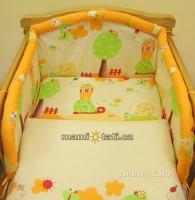 Krásný set do kolébky CL - Šnek pomerančový