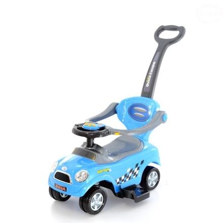 Euro Baby Jezdítko,odstrkovadlo, odrážedlo 3v1 AUTÍČKO - modré