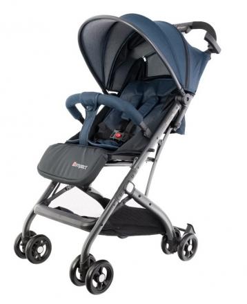 Euro Baby Dětský kočárek Compact - modrý, Ce19