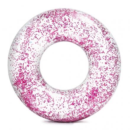 Nafukovací kruh flitrový 107 cm